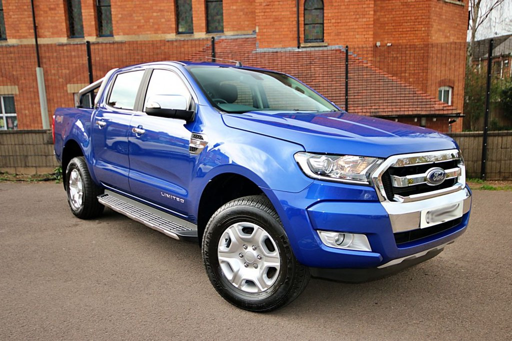 USED 2018 18 FORD RANGER 2.2 LIMITED 4X4 DCB TDCI 4d 158 BHP NO DEPOSIT FINANCE + 1 KEEPER + GREAT SPEC