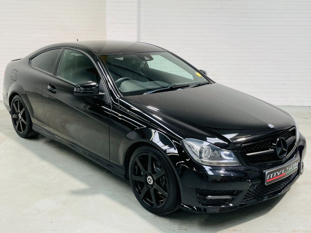 USED 2015 15 MERCEDES-BENZ C-CLASS 2.1 C220 CDI AMG SPORT EDITION 2d 168 BHP Full Black Styling Pack, Privacy Glass, Full De Chrome