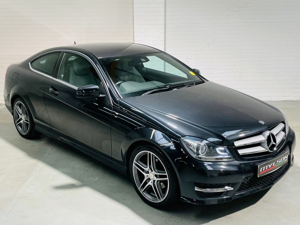 USED 2012 12 MERCEDES-BENZ C-CLASS 2.1 C220 CDI BLUEEFFICIENCY AMG SPORT 2d 170 BHP AMG Pack, Full Leather Interior, COMAND Media, Ultra Low Mileage