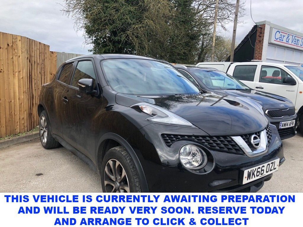 USED 2016 66 NISSAN JUKE 1.5 dCi Tekna 5dr 5 Seat Family SUV Plus Exterior Pack & Comfort Pack Recent Service & MOT 4 New Tyres Cambelt April 2021 New Front Brakes & New Battery Now Ready to Drive Away Today AN  SNAZZY ECONOMICAL HATCHBACK WITH A BRILLIANT SERVICE HISTORY