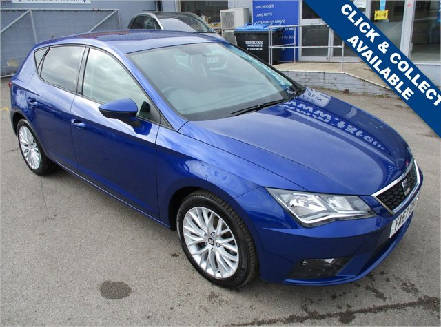 USED 2017 67 SEAT LEON 1.2 TSI SE DYNAMIC TECHNOLOGY 5d 109 BHP FULL SEAT SERVICE HISTORY
