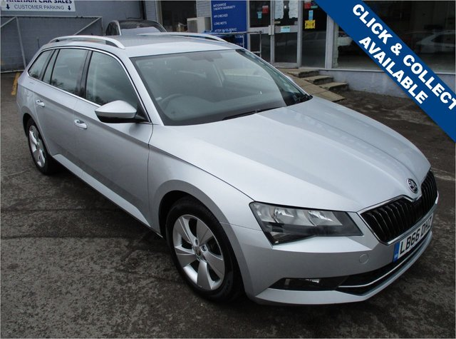 USED 2017 66 SKODA SUPERB 1.6 SE TDI 5d 118 BHP STUNNING CONDITION AND DRIVE