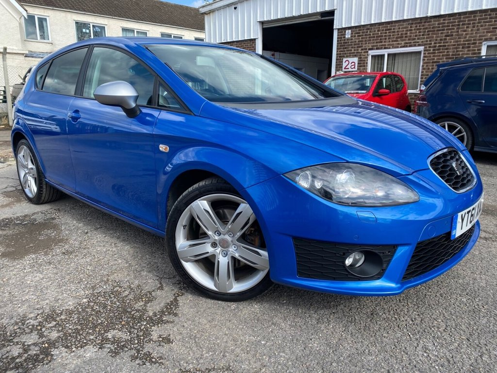 USED 2011 61 SEAT LEON 2.0 CR TDI FR PLUS 5d 168 BHP FULL SERVICE HISTORY, ONLY 60K