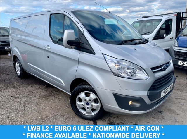 USED 2017 67 FORD TRANSIT CUSTOM 2.0 290 LIMITED LR P/V 129 BHP