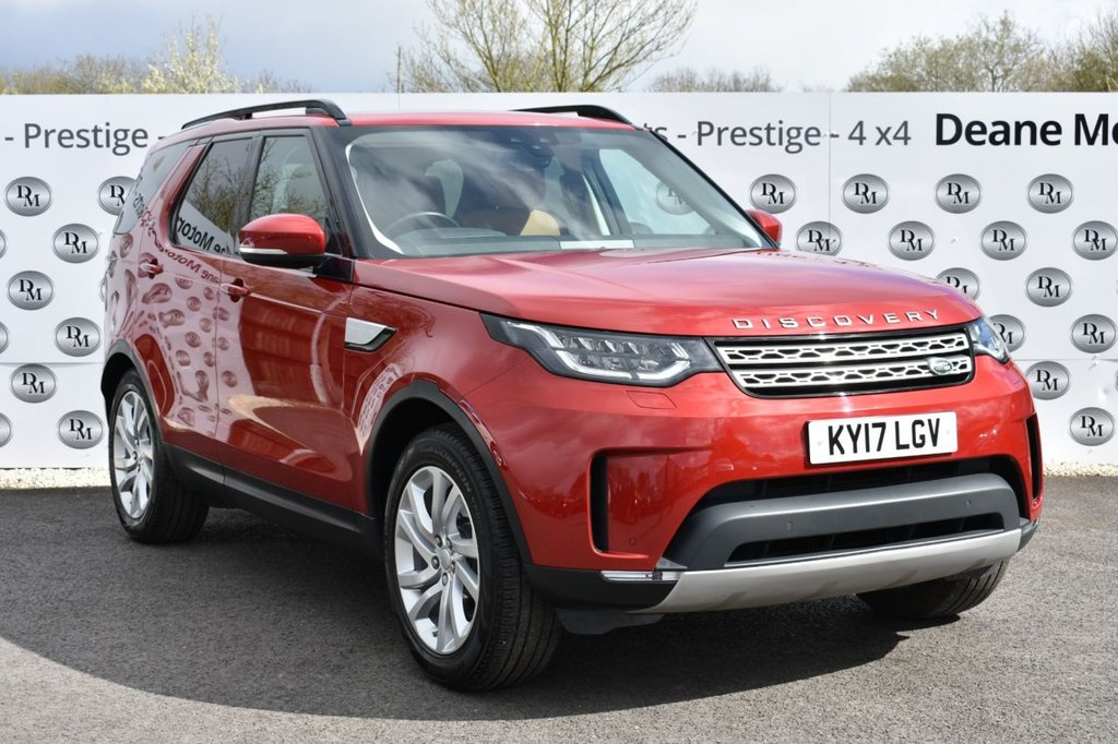 USED 2017 17 LAND ROVER DISCOVERY 2.0 SD4 HSE 5d 237 BHP