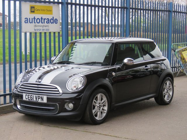 USED 2011 61 MINI HATCH COOPER 1.6 COOPER 3d 122 BHP Air Conditioning,Alloy Wheels,Part Leather Interior,Front Fog Lights