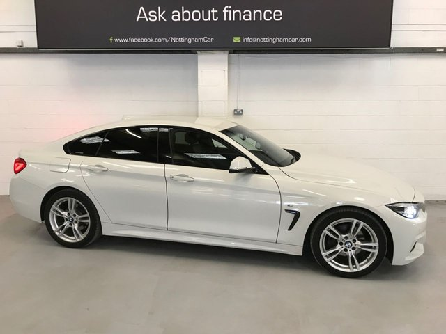 USED 2017 67 BMW 4 SERIES 2.0 420D M SPORT GRAN COUPE 4d 188 BHP