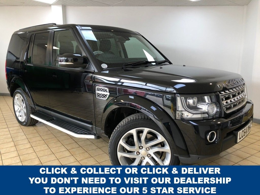 USED 2015 64 LAND ROVER DISCOVERY 4 3.0 SDV6 HSE 5d 7 Seat Family SUV 4x4 AUTO with Massive High Spec Recent Service & MOT 2 New Tyres and Rear Brakes Ready to Finance and Drive Away Today  1 Former Keeper