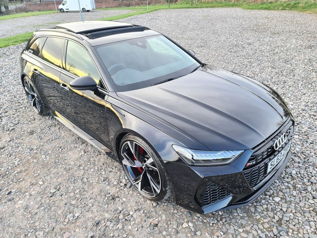 USED 2020 69 AUDI A6 4.0 RS 6 AVANT TFSI QUATTRO LAUNCH EDITION 5d 592 BHP Free Next Day Nationwide Delivery