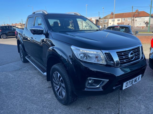 USED 2018 18 NISSAN NAVARA 2.3 DCI TEKNA 4X4 SHR DCB 190 BHP 1 OWNER*LEATHER*4WD*NAV*CRUISE CONTROL*HEATED SEATS*DAB