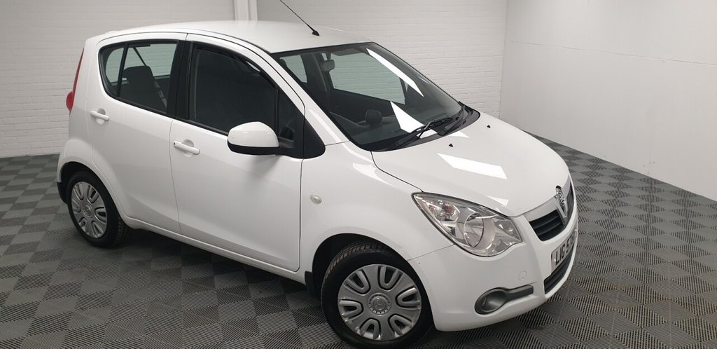 USED 2013 VAUXHALL AGILA 1.0 S ECOFLEX 5d 67 BHP NATIONWIDE DELIVERY AVAILABLE!