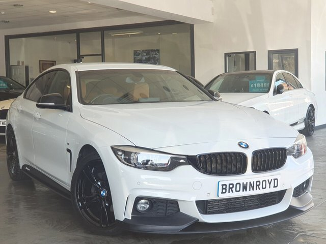 USED 2017 17 BMW 4 SERIES GRAN COUPE 2.0 420D M SPORT GRAN COUPE 4d 188 BHP BM PERFORMANCE STYLING+6.9%APR