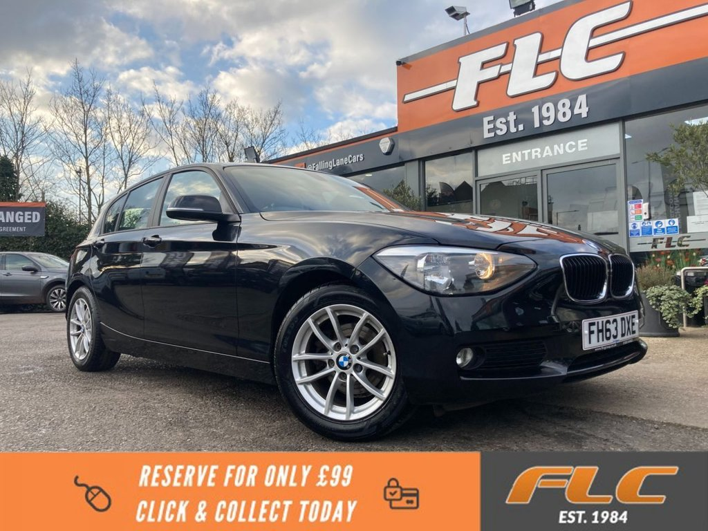 USED 2014 63 BMW 1 SERIES 1.6 116D EFFICIENTDYNAMICS 5d 114 BHP
