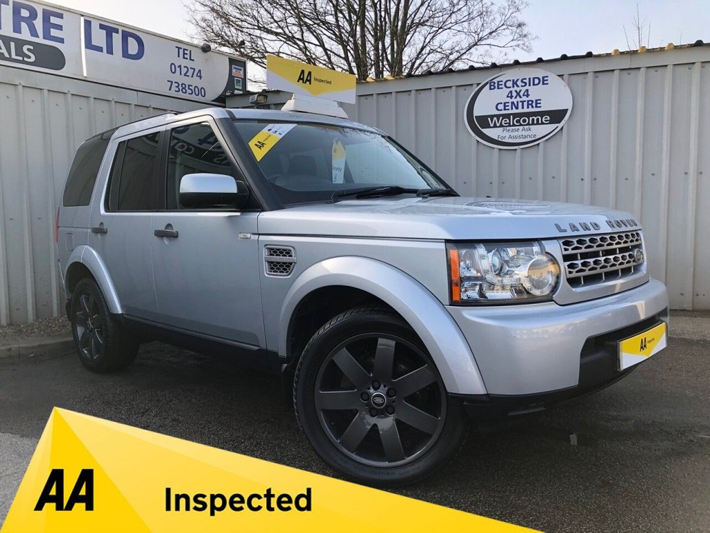 USED 2010 10 LAND ROVER DISCOVERY 2.7 3 TDV6 GS 5d 188 BHP AA INSPECTED. FINANCE. WARRANTY. 7 SEATER. AUTOMATIC. LOW MILEAGE