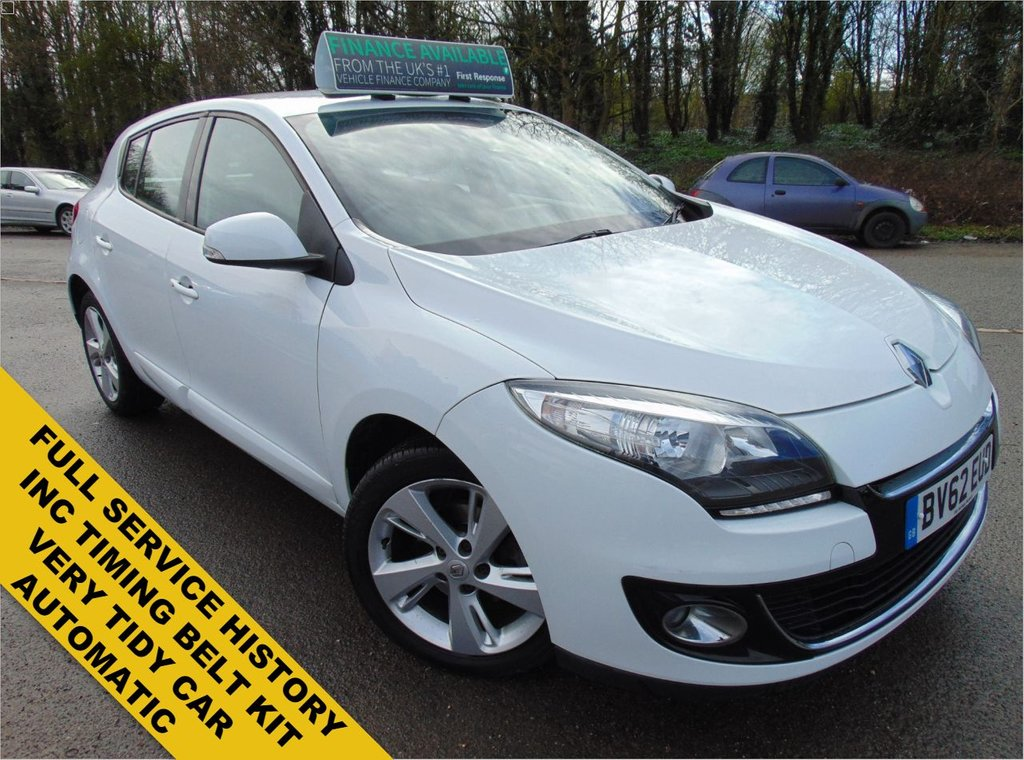 USED 2012 62 RENAULT MEGANE 1.5 DYNAMIQUE TOMTOM DCI EDC 5d 110 BHP FULL SERVICE HISTORY+LONG MOT