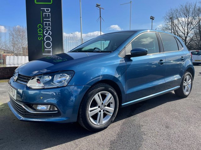 VOLKSWAGEN POLO at Peter Scott Cars