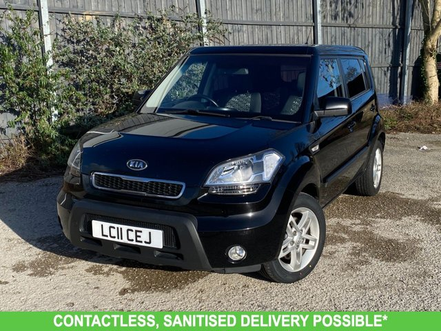 USED 2011 11 KIA SOUL 1.6 2 CRDI 5d 127 BHP NEW MOT, SERVICE, FINANCE ME TODAY-UK DELIVERY POSSIBLE