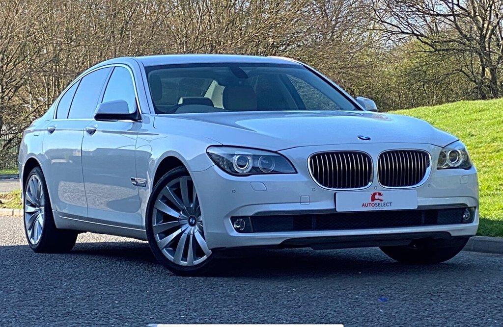 USED 2011 P BMW 7 SERIES 3.0 730D SE 4d 242 BHP FSH ONLY 60K HUGE SPEC STUNNING