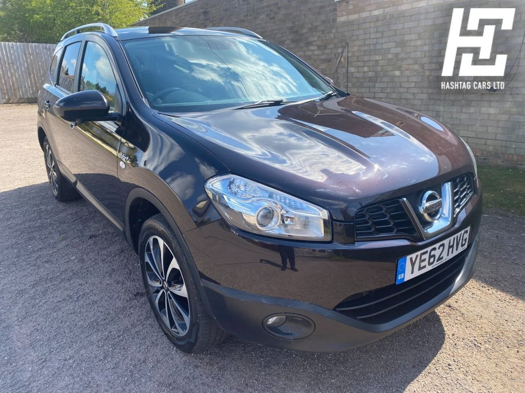 USED 2012 62 NISSAN QASHQAI+2 1.6 PLUS 2 N-TEC PLUS IS DCIS/S 5d 130 BHP GREAT VALUE/GREAT CONDITION/B/TOOTH+USB+AUX+SATNAV+AIRCON+ABS