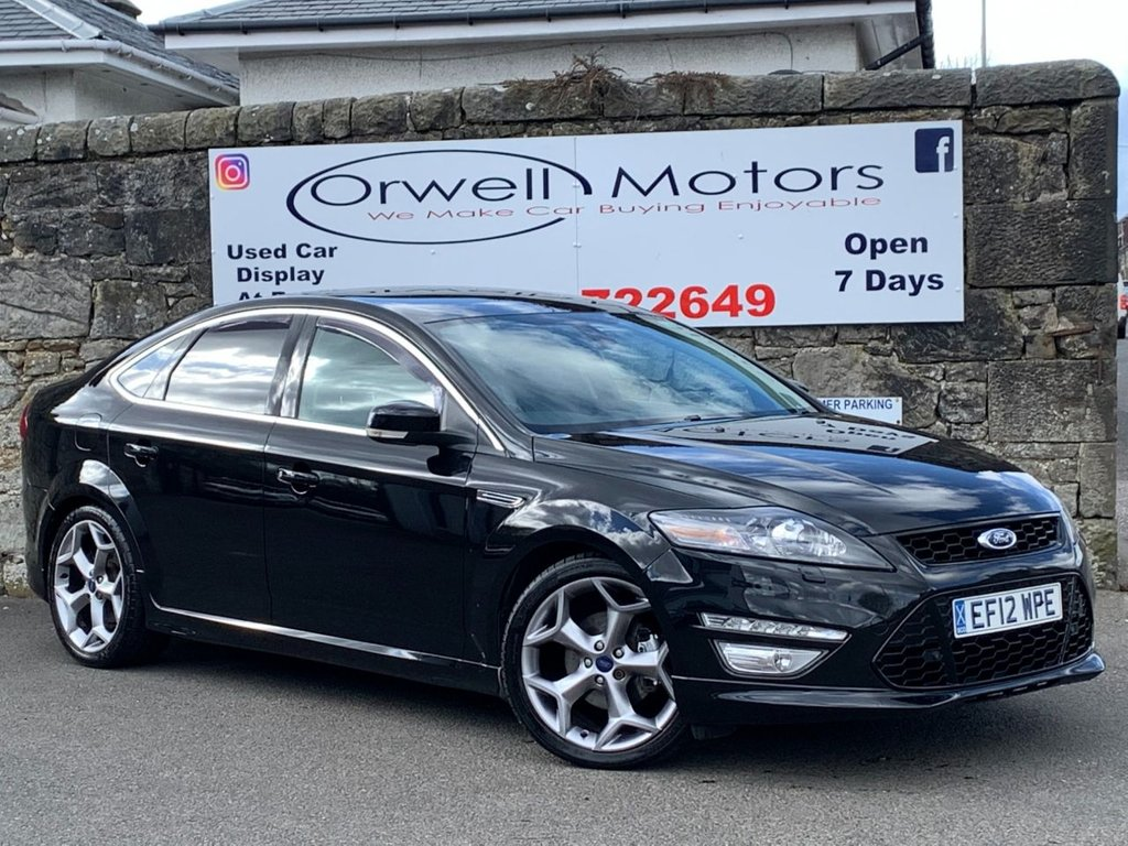 USED 2012 12 FORD MONDEO 2.2 TITANIUM X SPORT TDCI 5d 197 BHP LOVELY EXAMPLE+HEATED AND COOLED FRONT SEATS+CRUISE CONTROL+HALF LEATHER INTERIOR+FRONT AND REAR PARKING AID+SERVICE HISTORY+LOW MILEAGE