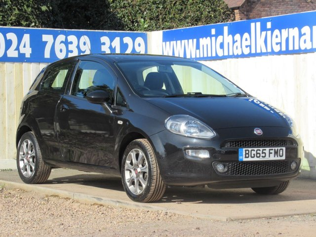 USED 2015 65 FIAT PUNTO 1.4 EASY PLUS 3d 77 BHP IDEAL FIRST CAR