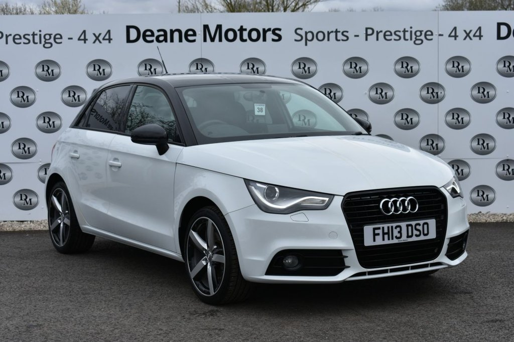 USED 2013 13 AUDI A1 1.4 SPORTBACK TFSI AMPLIFIED EDITION 5d 121 BHP