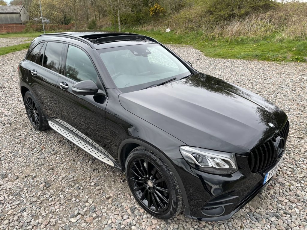 USED 2016 16 MERCEDES-BENZ GLC-CLASS 2.1 GLC 220 D 4MATIC AMG LINE PREMIUM 5d 168 BHP Free Next  Day Nationwide  Delivery
