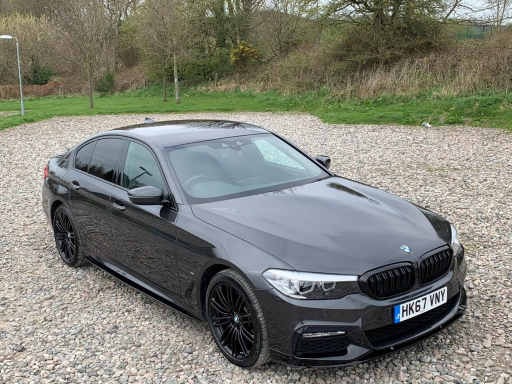 USED 2018 67 BMW 5 SERIES 2.0 530E M SPORT 4d 249 BHP Free Next  Day Nationwide  Delivery