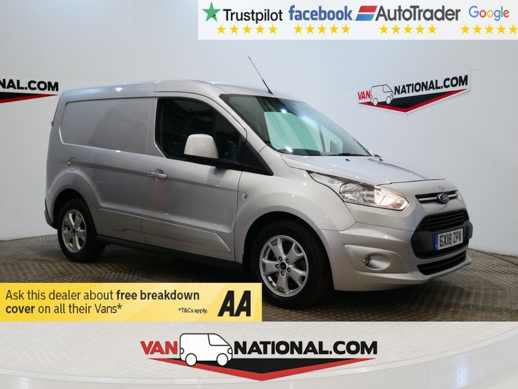 USED 2018 18 FORD TRANSIT CONNECT 1.5 200 LIMITED P/V 120 BHP WWW.VANNATIONAL.COM