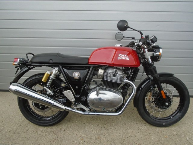 USED 2021 21 ROYAL ENFIELD Continental GT 650 Twin ROYAL ENFIELD GT 650 CONTINENTAL TWIN ABS