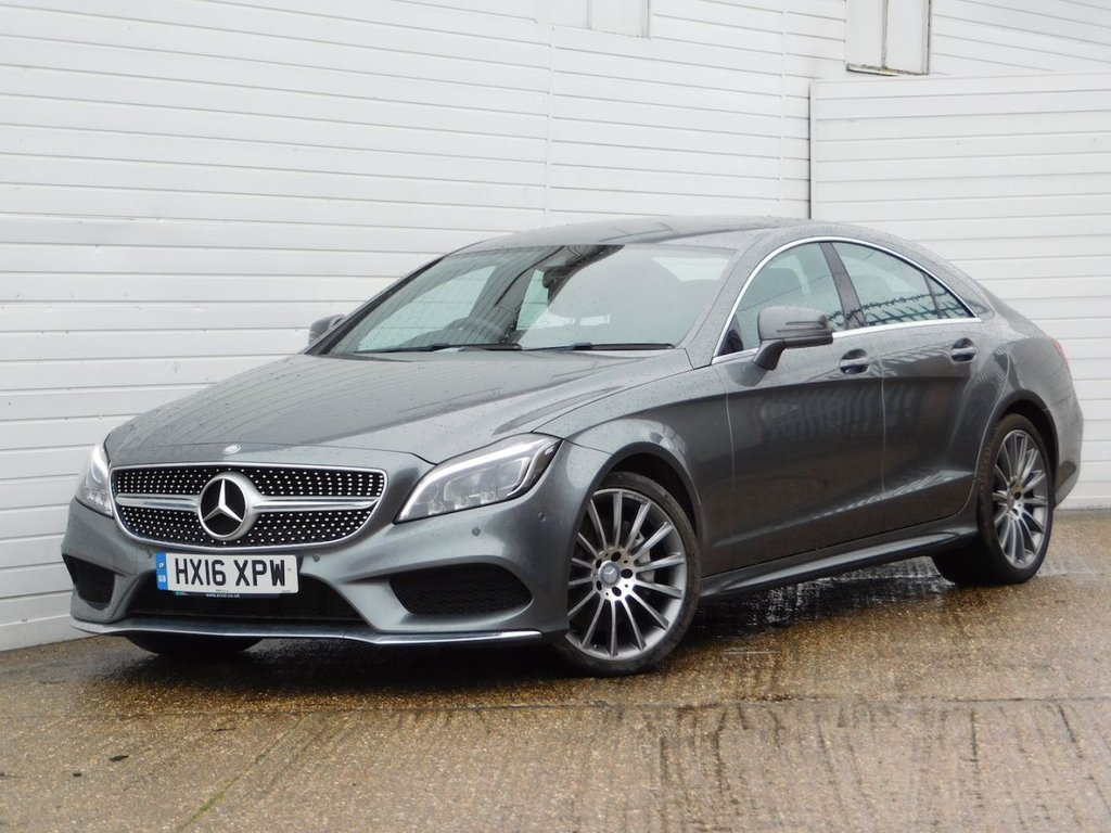 USED 2016 16 MERCEDES-BENZ CLS CLASS 3.0 CLS350 D AMG LINE 4d 255 BHP Buy Online Moneyback Guarantee