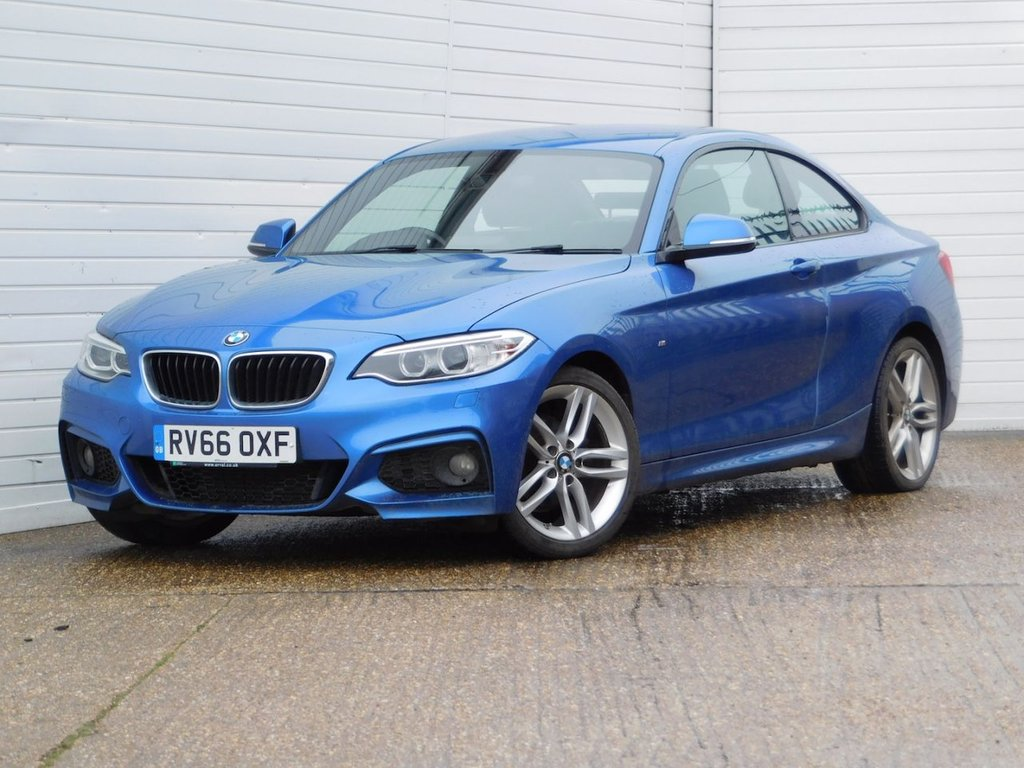 USED 2016 66 BMW 2 SERIES 1.5 218I M SPORT 2d 134 BHP Buy Online Moneyback Guarantee
