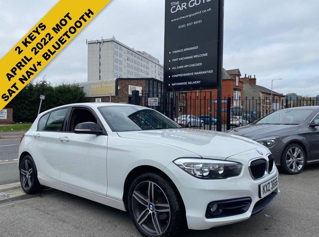 USED 2017 BMW 1 SERIES 2.0 118D SPORT 5d 147 BHP