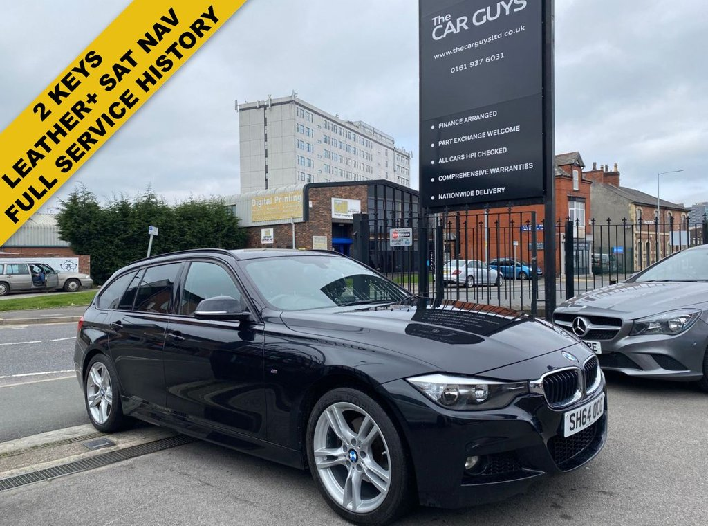 USED 2014 64 BMW 3 SERIES 2.0 320D XDRIVE M SPORT TOURING 5d 181 BHP