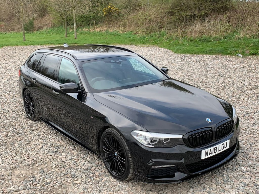USED 2018 18 BMW 5 SERIES 2.0 530I M SPORT TOURING 5d 248 BHP Free Next Day Nationwide Delivery