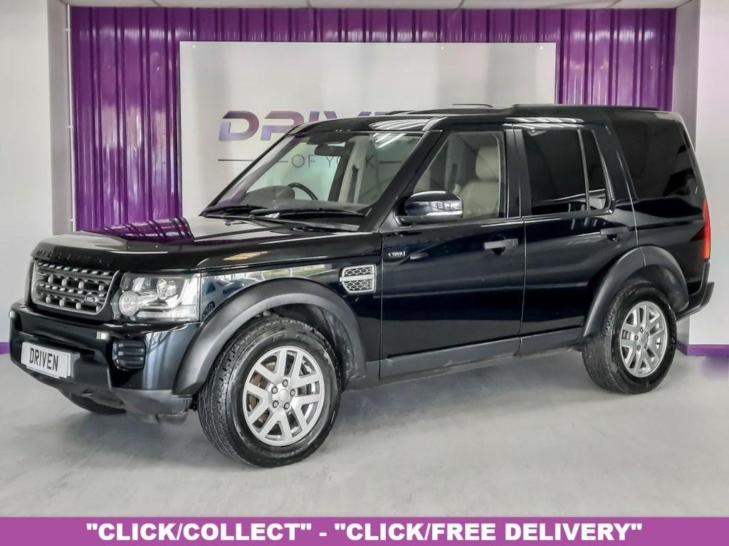 USED 2015 64 LAND ROVER DISCOVERY 4 3.0 SDV6 XS AUTO