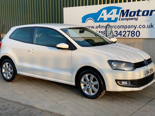 2014 14 VOLKSWAGEN POLO 1.2 Match Edition 3dr