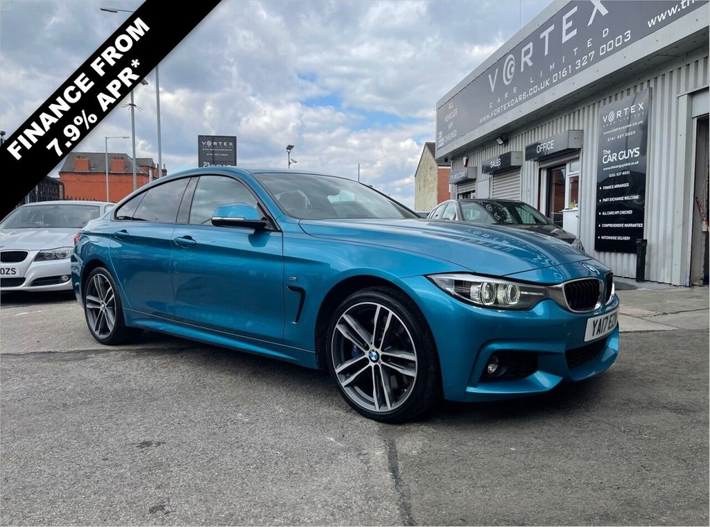 USED 2017 17 BMW 4 SERIES 3.0 435D XDRIVE M SPORT GRAN COUPE 4d 309 BHP PRO-MEDIA + HARMON KARDON