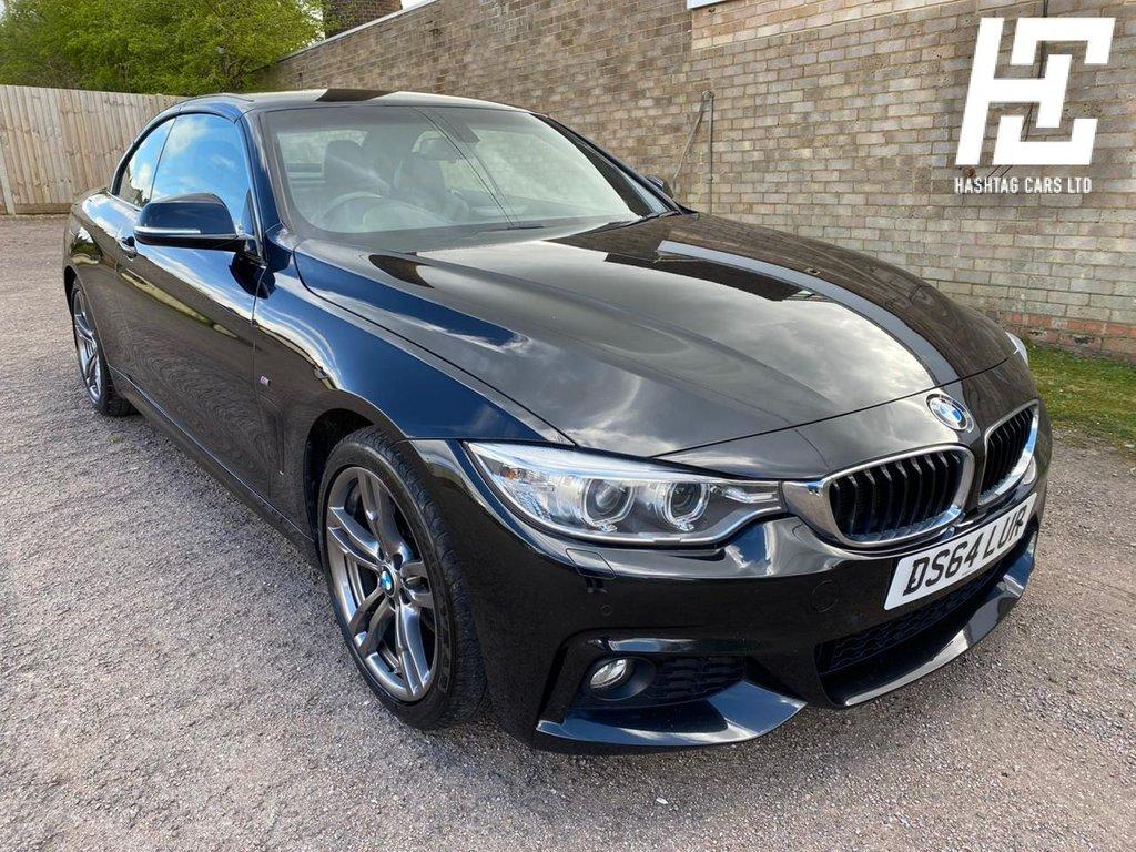USED 2015 64 BMW 4 SERIES 2.0 428I M SPORT 2d 242 BHP EURO 6 ULEZ/1 OWNER/GREAT SPEC/B/TOOTH+USB+AUX+DAB+SAT/NAV+FDSH