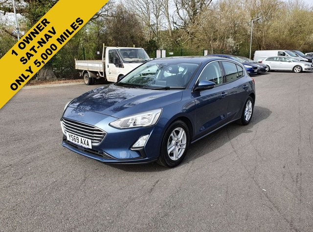 2019 69 FORD FOCUS 1.0 ZETEC ECOBOOST 125 BHP NEW MODEL