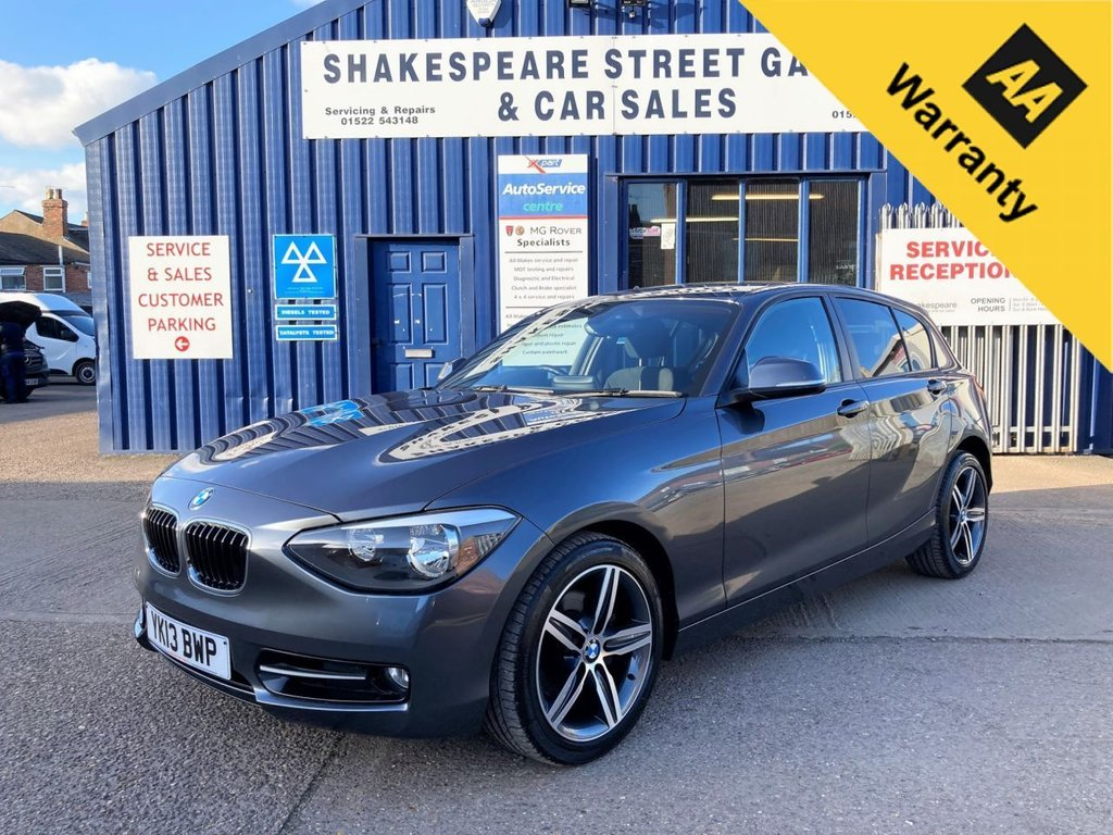 USED 2013 13 BMW 1 SERIES 2.0 120D SPORT 5d 181 BHP