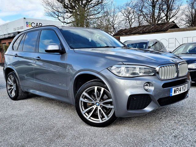 USED 2014 14 BMW X5 3.0 XDRIVE40D M SPORT 5d 309 BHP 2 PREVIOUS OWNERS + FULL BMW SERVICE HISTORY