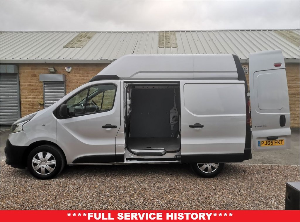 USED 2016 65 RENAULT TRAFIC 1.6 SH29 BUSINESS ENERGY DCI H/R P/V 120 BHP