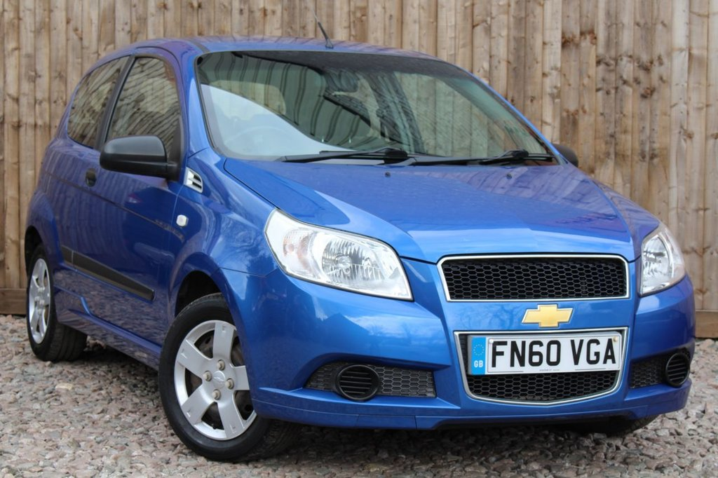 USED 2010 60 CHEVROLET AVEO 1.2 S 5dr PARKING SENSORS + 6 MONTH WARRANTY + JUST HAD A FULL SERVICE + MOT UNTIL MARCH 2022