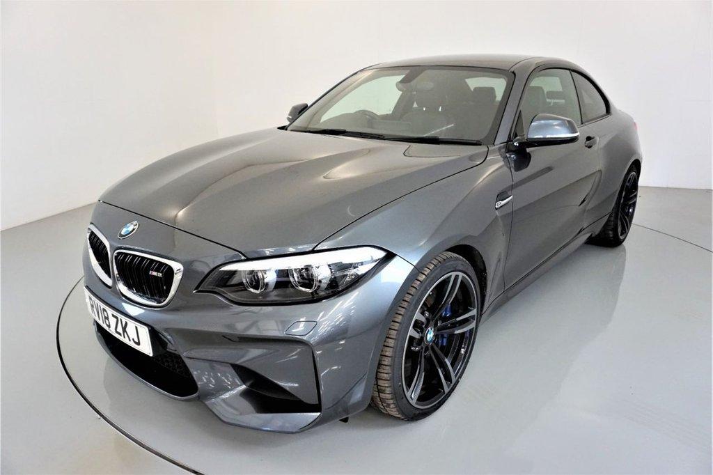 USED 2018 18 BMW M2 3.0 2d AUTO 365 BHP-1 OWNER CAR-HEATED BLACK DAKOTA LEATHER-HARMAN KARDON-19