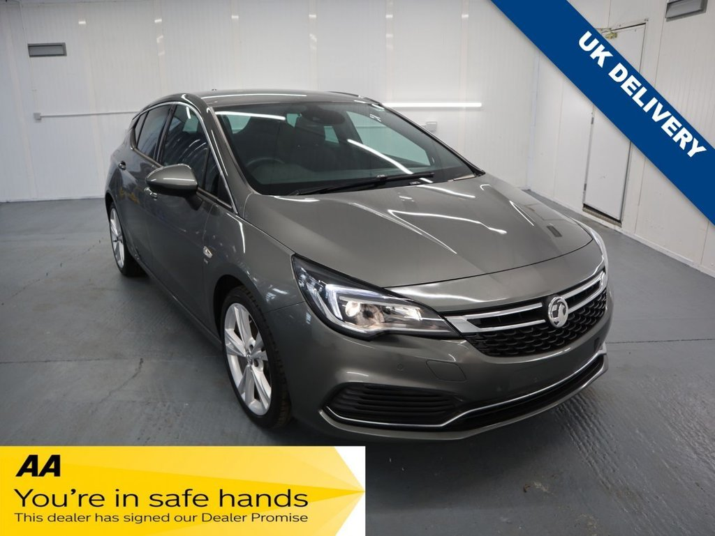 USED 2017 17 VAUXHALL ASTRA 1.6 SRI VX-LINE NAV CDTI BITURBO S/S 5d 158 BHP THIS 1.6 SRi VX LINE TICKS MOST OF THE BOXES BEING SPORTY AND RESPONSIVE WITH SPACE FOR PASSENGERS AND LUGGAGE.