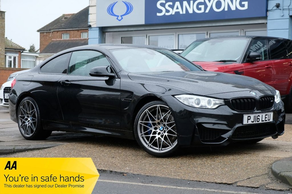 USED 2016 16 BMW M4 3.0 M4 COMPETITION PACKAGE 2d 444 BHP AVAILABLE FOR £499 PER MONTH £0 DEPOSIT