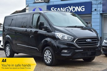 2021 FORD TRANSIT CUSTOM 2.0 320 LIMITED DCIV ECOBLUE 183 BHP NEW DELIVERY MILEAGE AUTOMATIC AND MANUAL AVAILABLE £26450.00