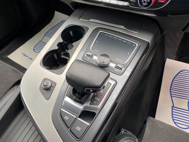 USED 2017 67 AUDI Q7 3.0 TDI QUATTRO S LINE 5d 215 BHP Black Styling Pack