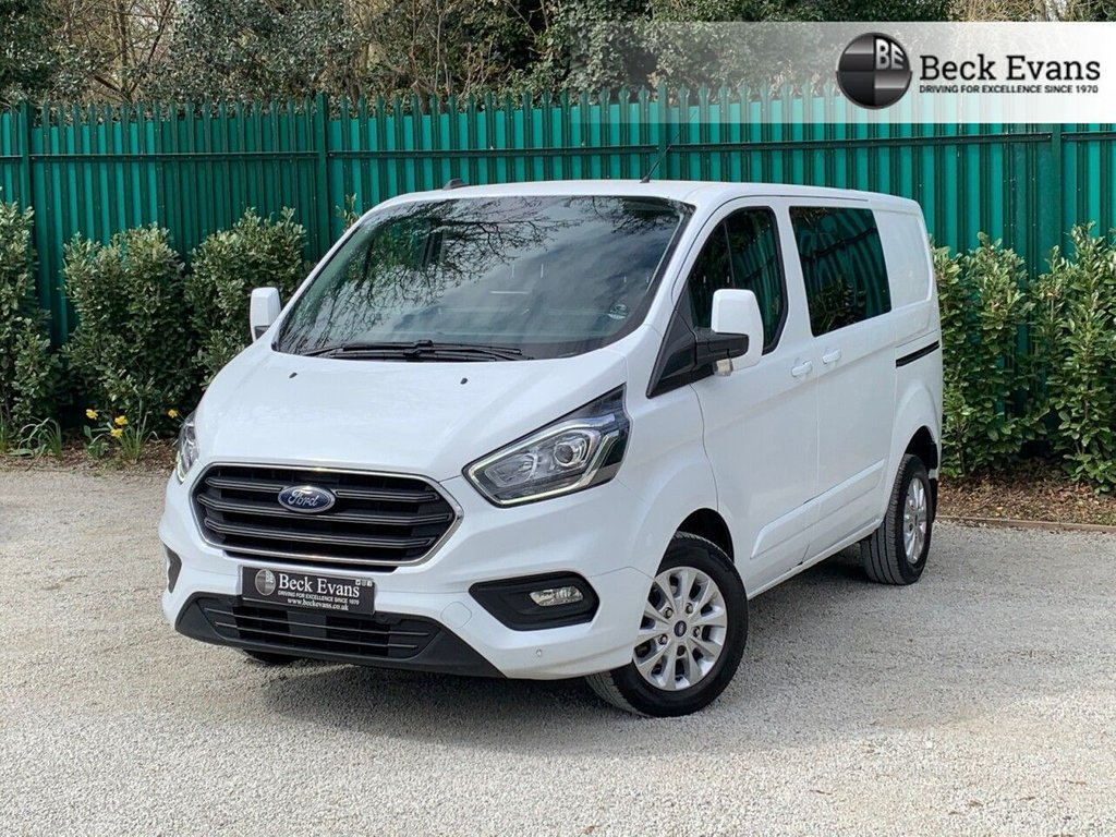 USED 2019 69 FORD TRANSIT CUSTOM 2.0 320 LIMITED DCIV ECOBLUE 129 BHP LOW MILEAGE